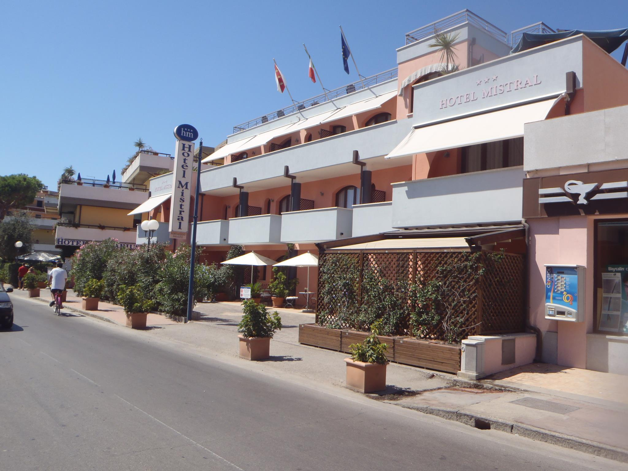 Hotel Mistral - Eingang
